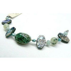 Precious by Liang Genuine Stone Silver Bracelet